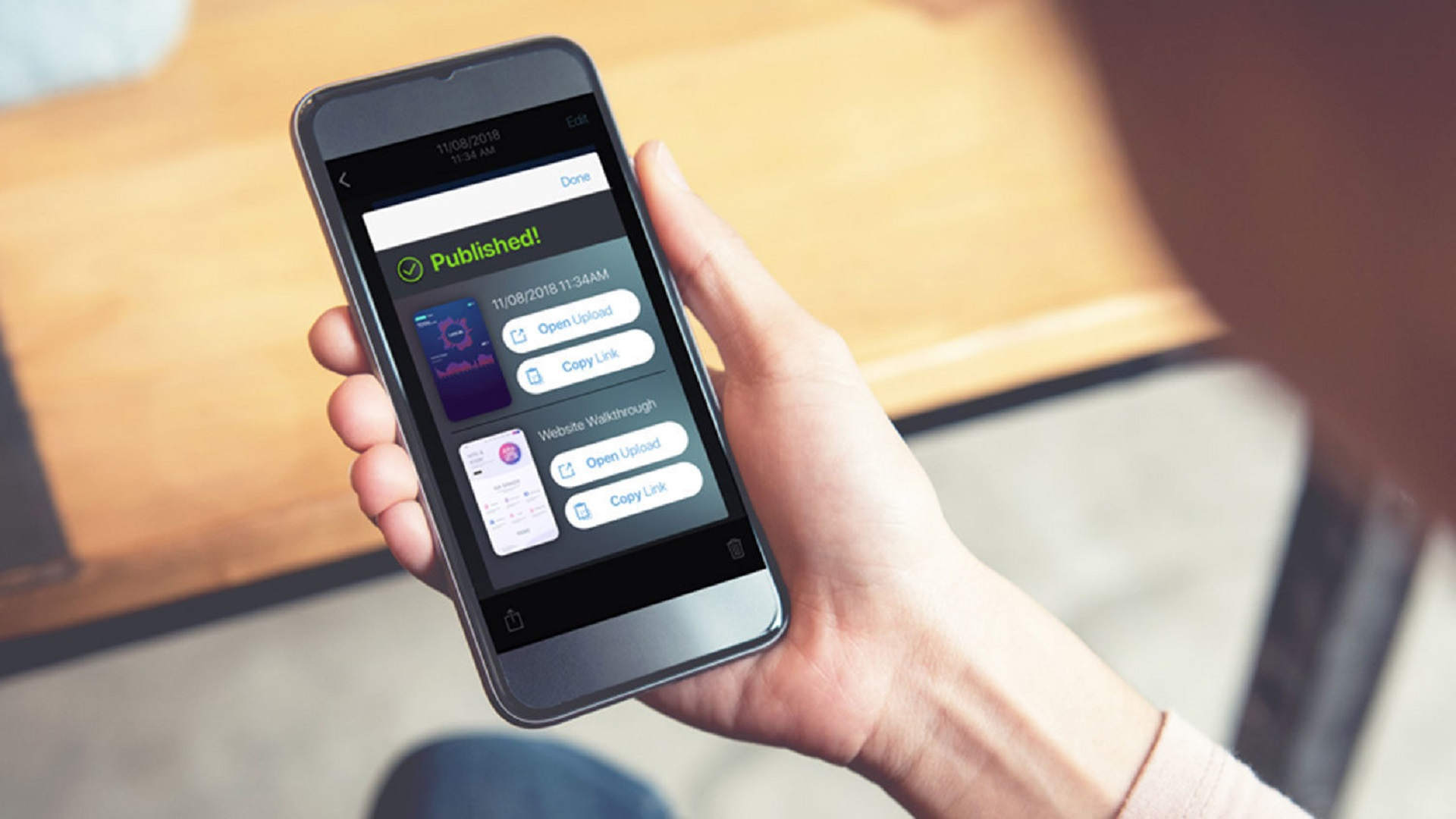 Upload to Screencast-O-Matic from Mobile Apps