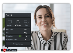 Screen Recording for personal touch