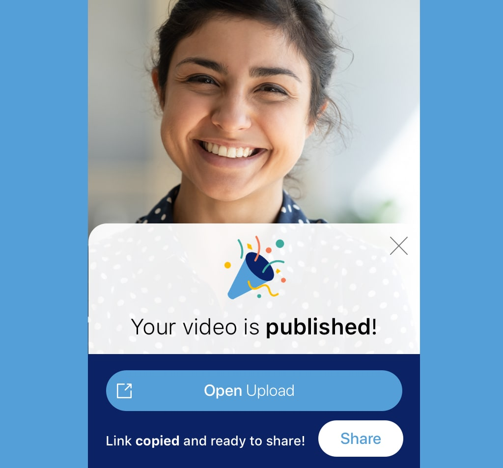 share videos from your android mobile device or tablet