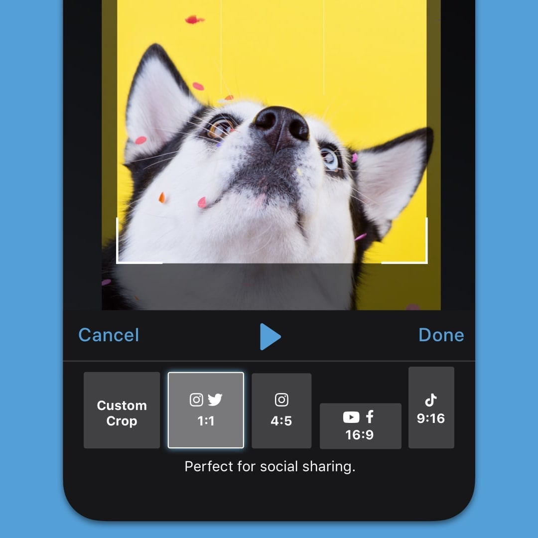 share videos from your android