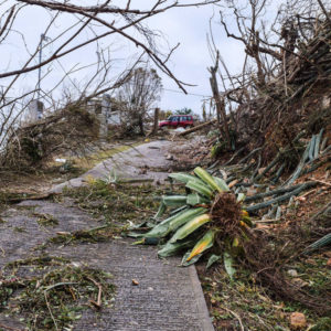 St. Croix, U. S. Virgin Islands – October 26, 2017: Showing devastation from hurricanes Irma & Maria