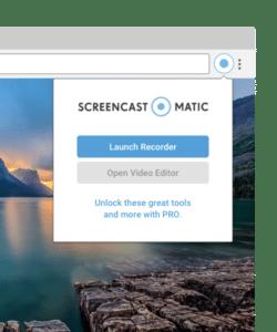 Get Screencast-O-Matic Chrome Browser Extension