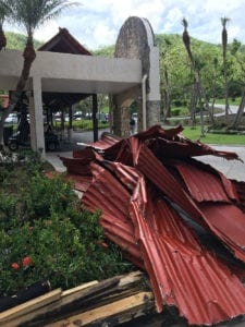 university in disaster