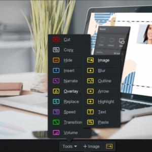 Video Editor Overlay