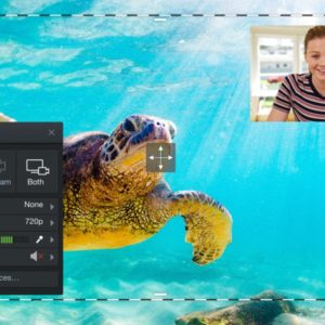 Webcam under water project