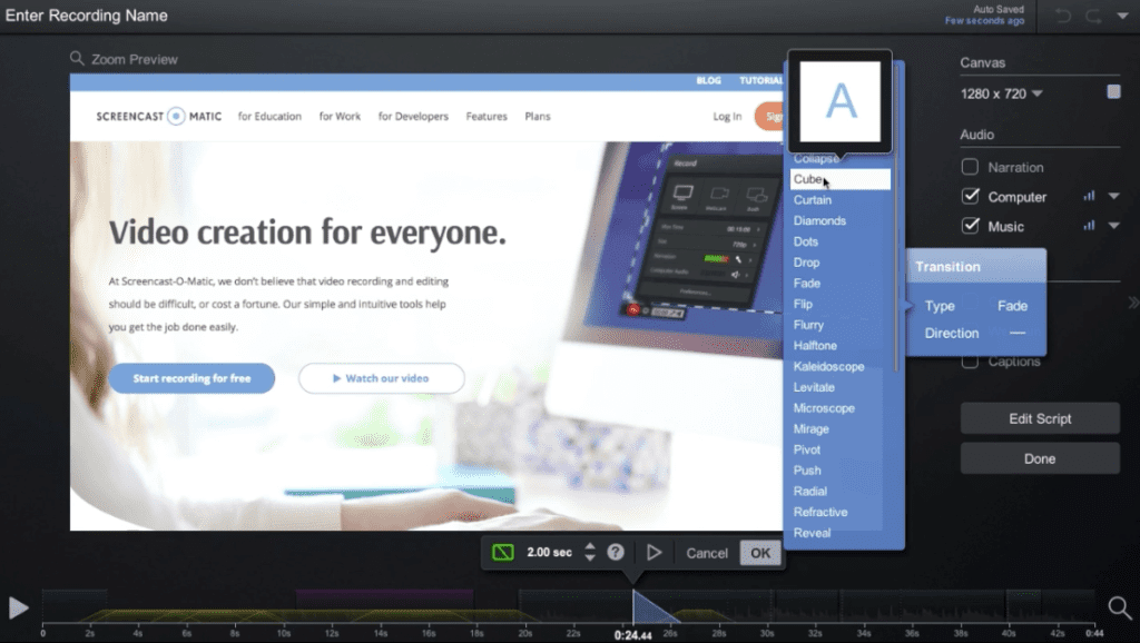 Easy Video Editing Software: Guide to Screencast-O-Matic's Video Editor