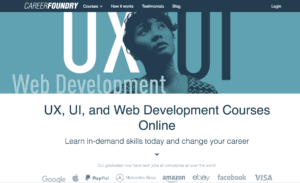 Career Foundry Website
