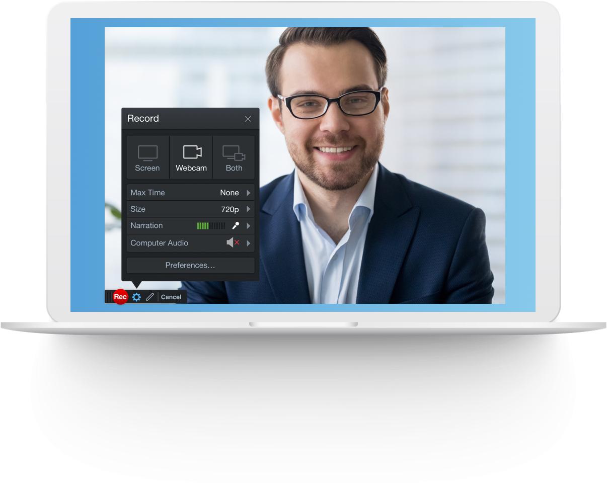 record my webcam