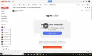 AgoraPulse Support Video Example