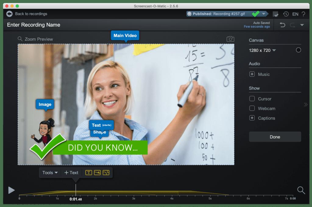Creative fun for online videos