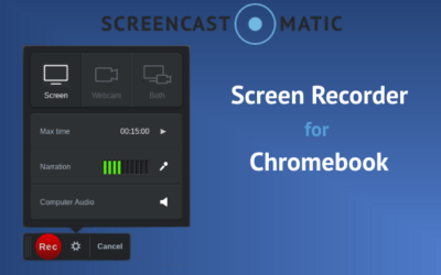Chromebook Screen Recorder Controls